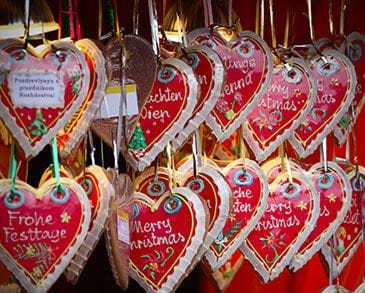 Christmas markets stall