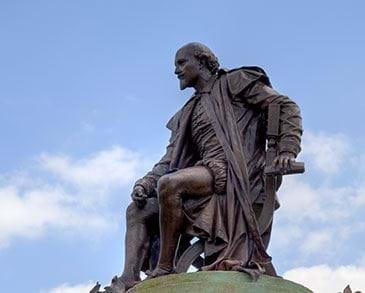 Statue of William Shakespeare