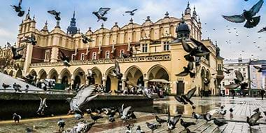 Krakow old city