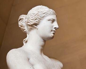 Aphrodite in the Louvre