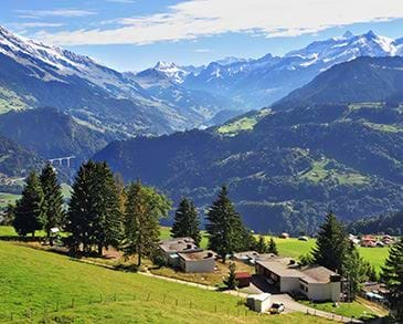 Swiss Alps Leysin