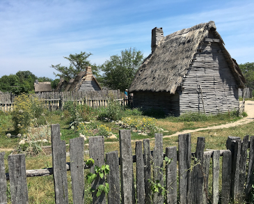 Pilgrim Houses in Plymouth, Massachusetts